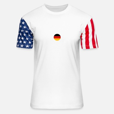 Germanic German-THe power of an German in Bulgaria - Unisex Stars & Stripes T-Shirt