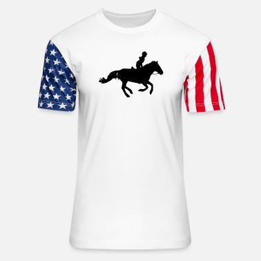 Gallop Gallop - Unisex Stars & Stripes T-Shirt