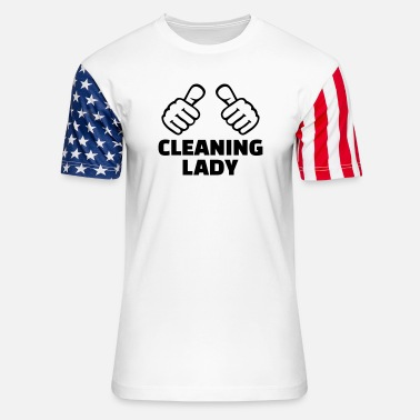 Cleaning Lady Cleaning lady - Unisex Stars & Stripes T-Shirt