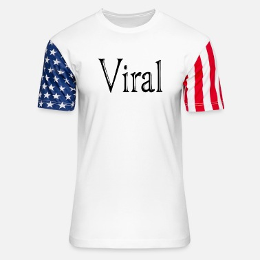 Viral viral. just viral - Unisex Stars & Stripes T-Shirt