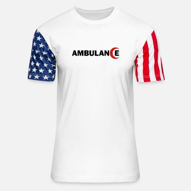 Crescent AmbulanceRedCrescent - Unisex Stars & Stripes T-Shirt