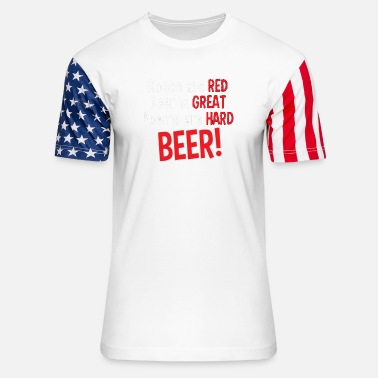 Alster Roses Are Red - Unisex Stars & Stripes T-Shirt