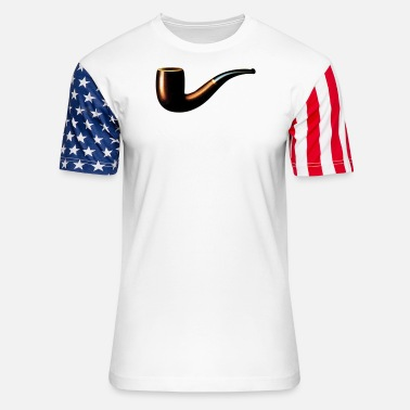 Pipe Pipe - Unisex Stars & Stripes T-Shirt