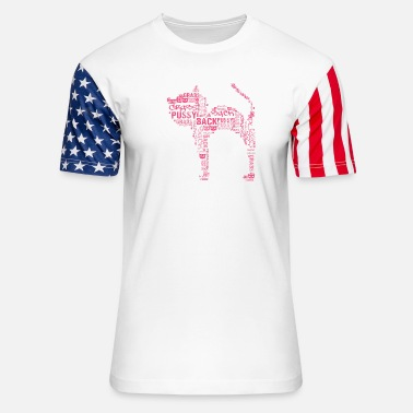 Pussy Grabs Back PUSSY GRABS BACK - IMPEACH TRUMP - Unisex Stars & Stripes T-Shirt
