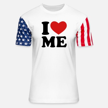 I Love Me I Love Me - Unisex Stars & Stripes T-Shirt