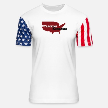 Tracking kornacki Dad - Unisex Stars & Stripes T-Shirt