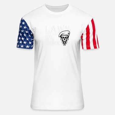 Enforcement Lawn Enforcement - Unisex Stars & Stripes T-Shirt