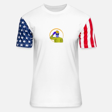 Labor Day And Labor Day - Unisex Stars & Stripes T-Shirt