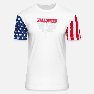 Michael Halloween - Michael Myers - Halloween - Unisex Stars & Stripes T-Shirt
