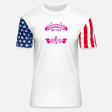 Crusher Crusher - Unisex Stars & Stripes T-Shirt