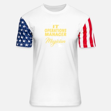 Operations Management IT Operations Manager - Unisex Stars & Stripes T-Shirt
