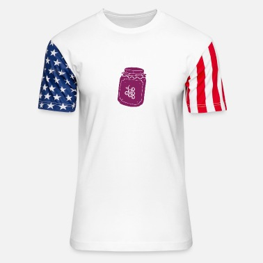 Jelly & jelly - Unisex Stars & Stripes T-Shirt