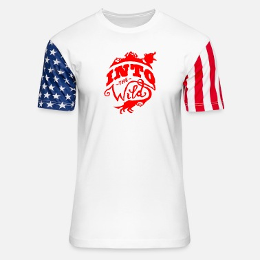 Wild Guy Into The Wild - Stars & Stripes T-Shirt