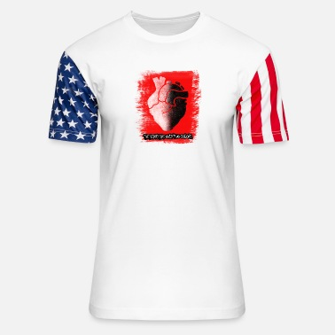 The Heart - Unisex Stars & Stripes T-Shirt