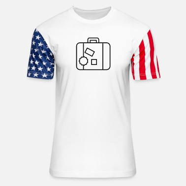 Suitcase Suitcase - Unisex Stars & Stripes T-Shirt