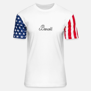 Benoit Team Benoit - Unisex Stars & Stripes T-Shirt