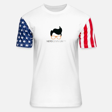 Cool Art cool art - Unisex Stars & Stripes T-Shirt