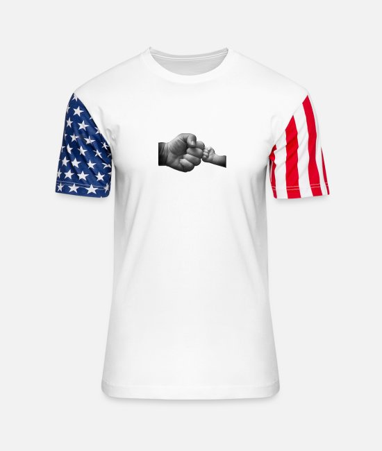 Lowest Price T-Shirts - Poppy And Grandson Best Friends For Life - Unisex Stars & Stripes T-Shirt white