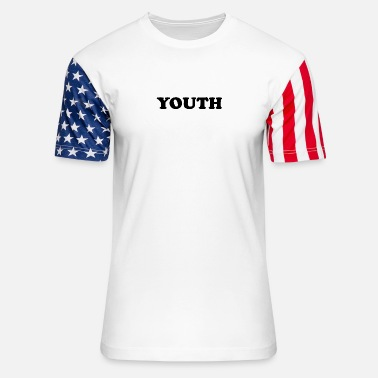 Write Your Name YOUTH - Unisex Stars & Stripes T-Shirt