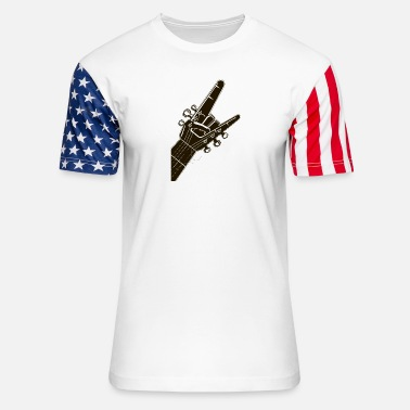 Hard Rock Hard rock - Unisex Stars & Stripes T-Shirt