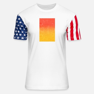 Glowing Glow - Unisex Stars & Stripes T-Shirt