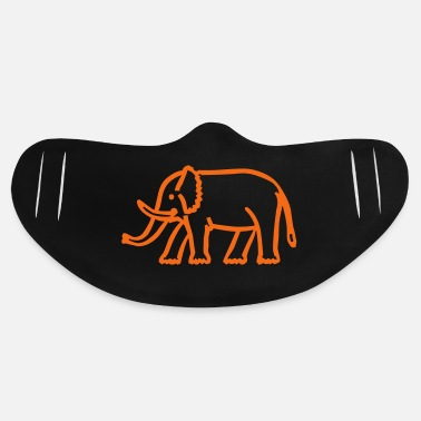 Pattern elephant - Basic Lightweight Face Mask
