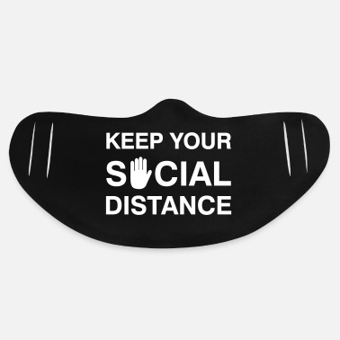 House Keep your Social Distance - Basic Lightweight Face Mask