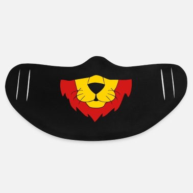 Healthy Lion Animal Face Mask - Basic Lightweight Face Mask