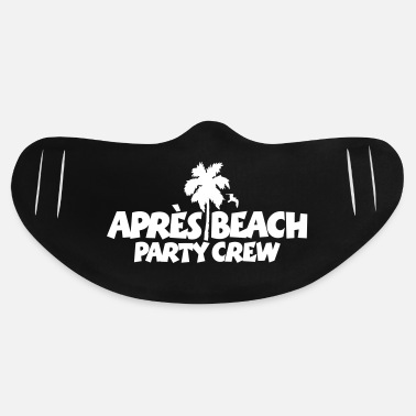 Spring Break Après Beach Party Crew - Basic Lightweight Face Mask