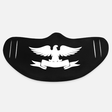 Emblem Decorative Bird Logo - Basic Lightweight Face Mask