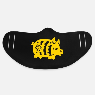 Asia pig - Basic Lightweight Face Mask