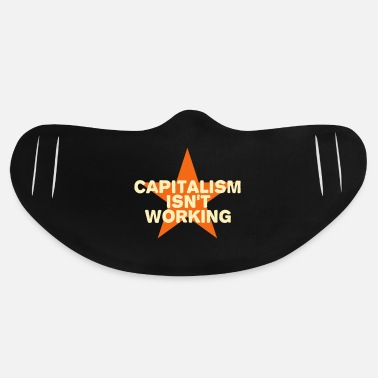 Wall capitalism isn't working - Basic Lightweight Face Mask