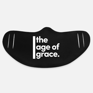 Age the age of grace - Basic Lightweight Face Mask