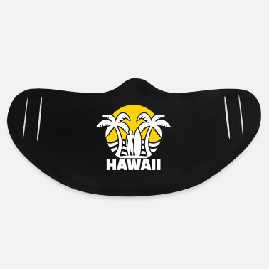 Hawaii Hawaii - Basic Lightweight Face Mask