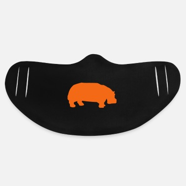 Animal hippo - Basic Lightweight Face Mask