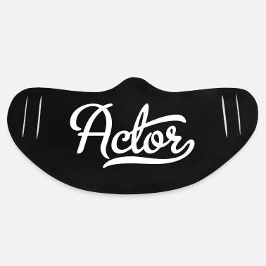 Actor actor - Basic Lightweight Face Mask