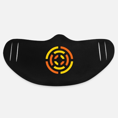 Abstract circle sign - Basic Lightweight Face Mask