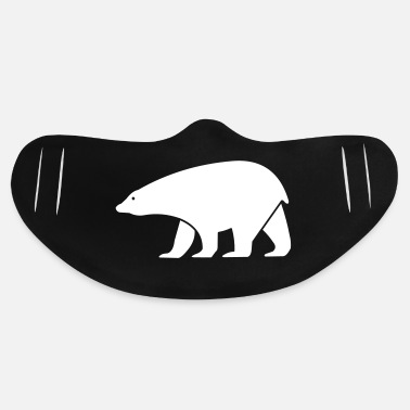 Animal polar bear - Basic Lightweight Face Mask