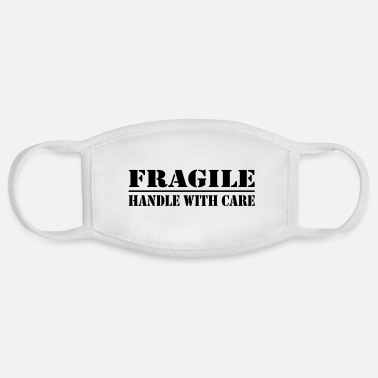 Lol fragile - Face Mask