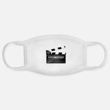 Clapperboard Documentary Movie Clapperboard - Face Mask