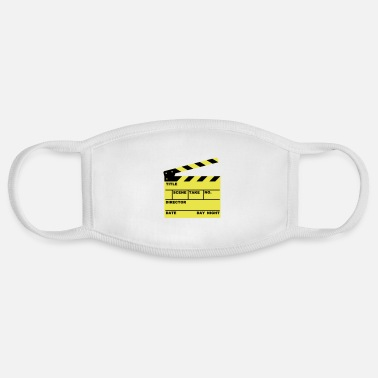 Scene clapperboard (writable flex) - Face Mask