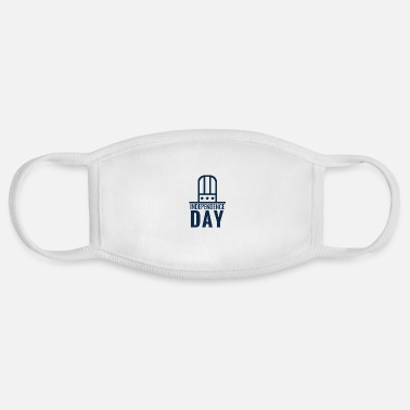 Navy Independence day navy - Face Mask