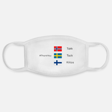 Scandinavia ThankYou @scandinavia - Face Mask