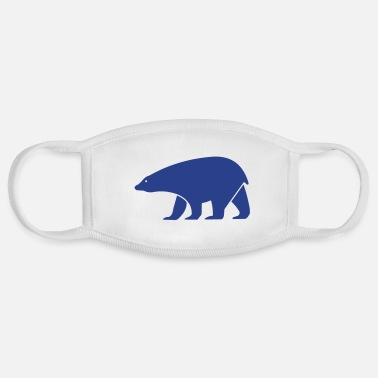 Form polar bear - Face Mask