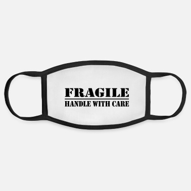 Marriage fragile - handle with care - Face Mask