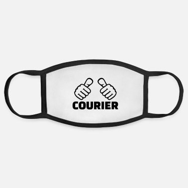 Courier Courier - Face Mask