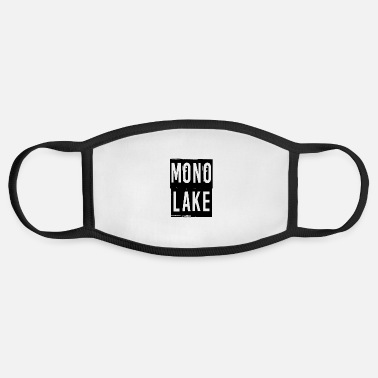 Lake Mono Lake - Face Mask