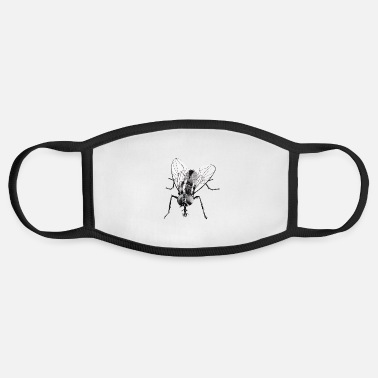 Fly-insect Black fly insect - Face Mask