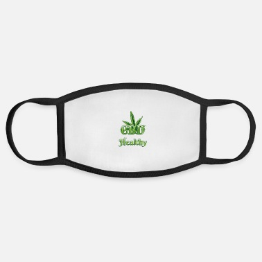 Hemp Hemp Farmer Design - Cannabidiol Hemp - Face Mask