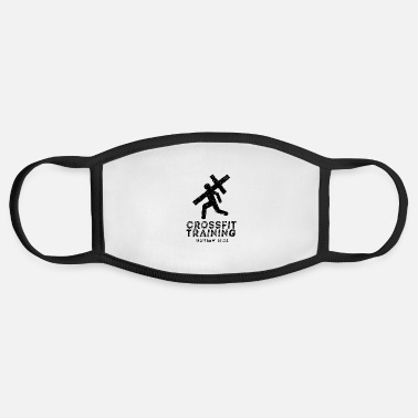 Crossfit Crossfit Training & Christian Faith - Face Mask